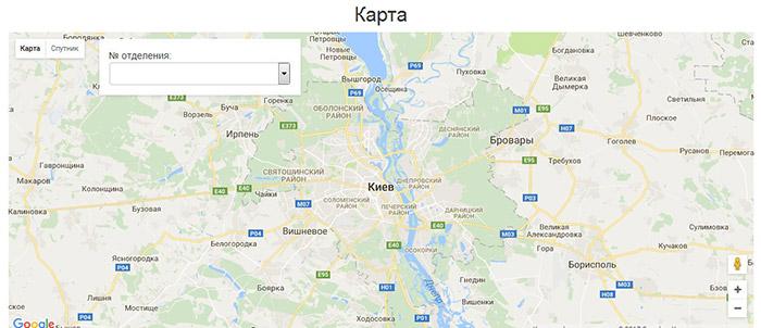 Работа с метками в Google Maps