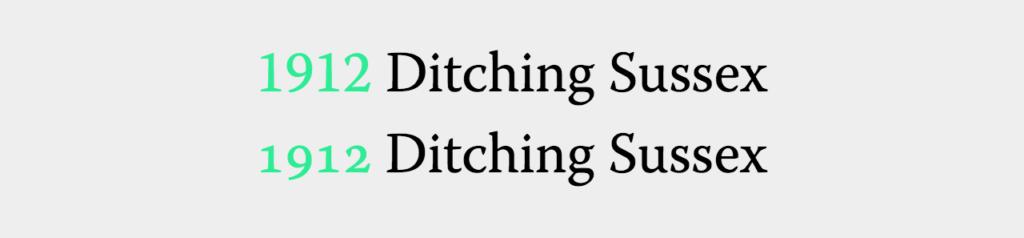Улучшение типографики через вариации шрифтов