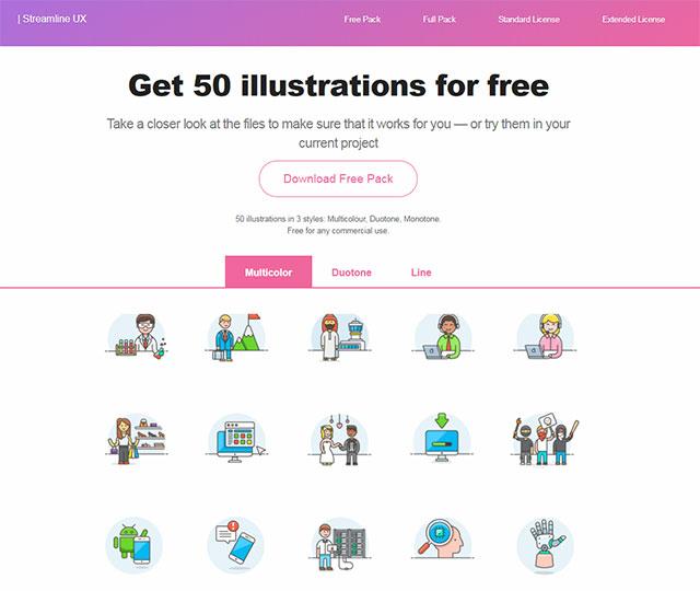 50 бесплатных иллюстраций