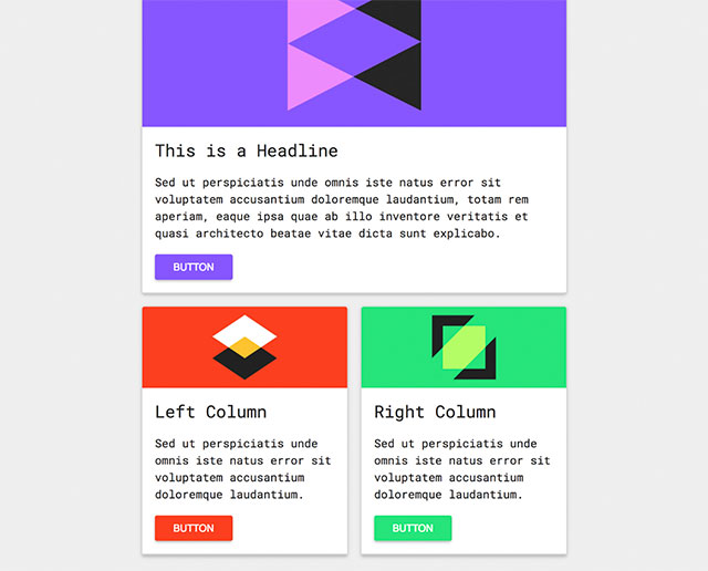 Free Email Template - Material Design